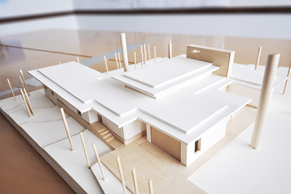 The gallery for simple architectural models for Model house building materials